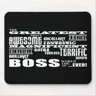 Cool Modern Fun Bosses : Greatest Boss Mouse Pads