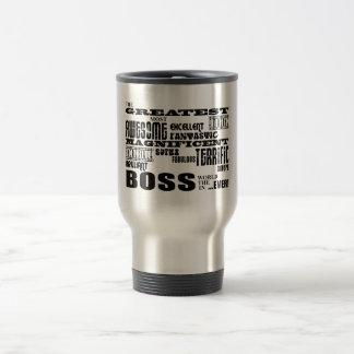 Cool Modern Fun Bosses : Greatest Boss 15 Oz Stainless Steel Travel Mug