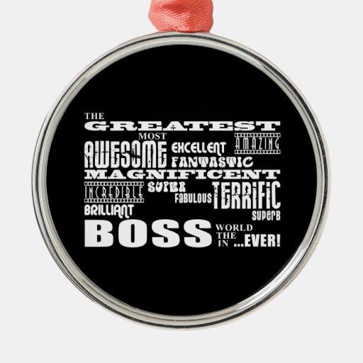 Cool Modern Fun Bosses : Greatest Boss Ornaments