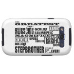 Cool Modern Fun Stepbrothers  Greatest Stepbrother Samsung Galaxy S3 Case