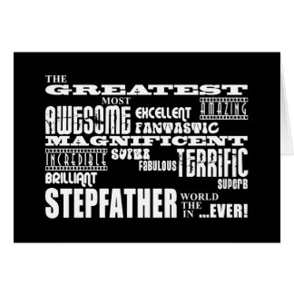 Cool Modern Fun Stepfathers Greatest Stepfather Cards