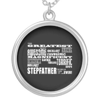 Cool Modern Fun Stepfathers : Greatest Stepfather Custom Necklace