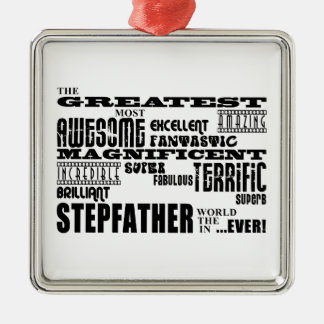 Cool Modern Fun Stepfathers : Greatest Stepfather Christmas Tree Ornaments