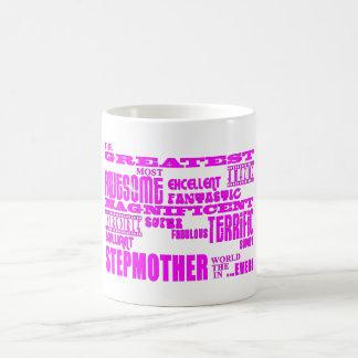 Cool Modern Fun Stepmothers Greatest Stepmother Coffee Mugs