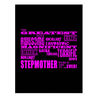 Cool Modern Fun Stepmothers : Greatest Stepmother Postcard