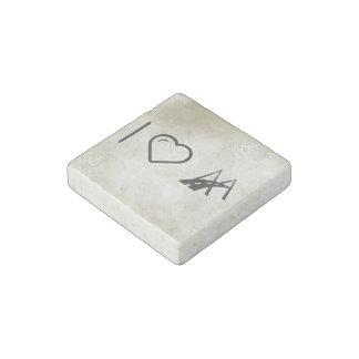 Cool Modern Lifestyle Stone Magnet