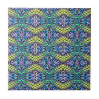 Cool Modern Multi colored Tribal Pattern Ceramic Tile