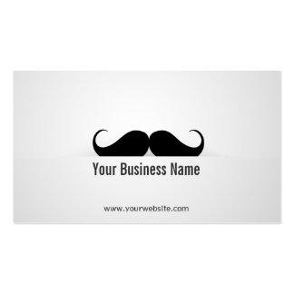 Cool Modern Mustache Business Card