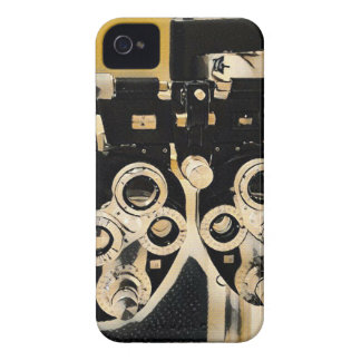 Cool Modern Optometrists Phoroptor Lenses iPhone 4 Case