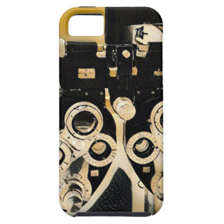 Cool Modern Optometrists Phoroptor Lenses iPhone SE/5/5s Case