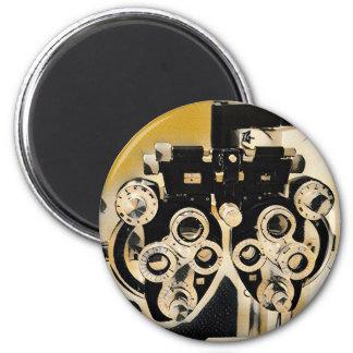 Cool Modern Optometrists Phoroptor Lenses Magnet
