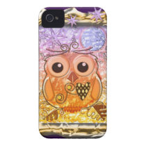 Cool modern Owl design iPhone 4 Case
