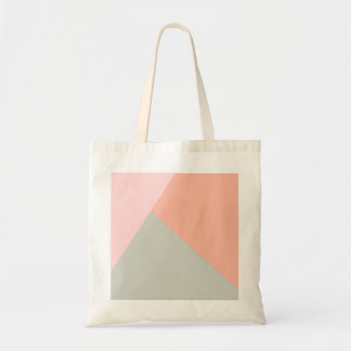 Cool modern pastel colors abstract pattern tote bag