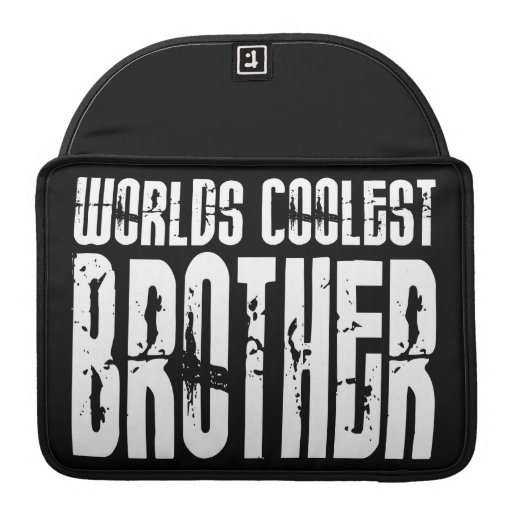 Cool Modern Urban Brothers  Worlds Coolest Brother MacBook Pro Sleeve