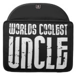 Cool Modern Urban Uncles : Worlds Coolest Uncle MacBook Pro Sleeves