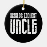 Cool Modern Urban Uncles : Worlds Coolest Uncle Ornament