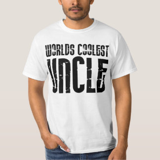 Cool Modern Urban Uncles : Worlds Coolest Uncle T-Shirt