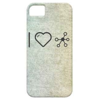 Cool Molecular Structure iPhone 5 Case