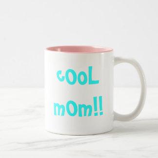 Cool Mom Two-Tone Coffee Mug