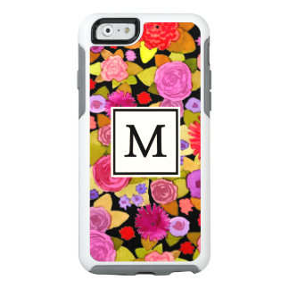 Cool Monogram Floral Otterbox iPhone 6/6s Case