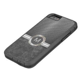 Cool Monogram Rugged Look Tough Xtreme iPhone 6 Case