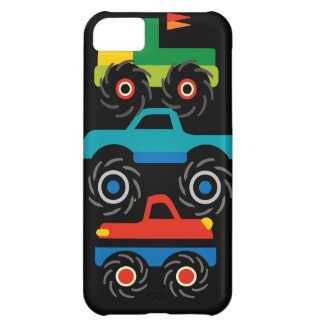 Cool Monster Trucks Blue Red Green Gifts for Boys iPhone 5C Cover