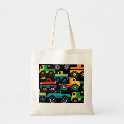 Cool Monsters Trucks Transportation Gifts for Boys Bags