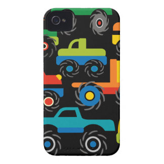 Cool Monsters Trucks Transportation Gifts for Boys iPhone 4 Case-Mate Case