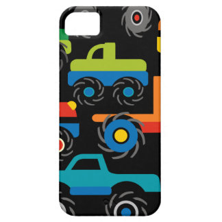 Cool Monsters Trucks Transportation Gifts for Boys iPhone SE/5/5s Case