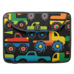 Cool Monsters Trucks Transportation Gifts for Boys Sleeves For MacBook Pro