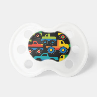 Cool Monsters Trucks Transportation Gifts for Boys Pacifier