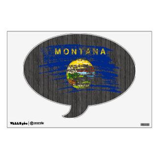 Cool Montanan flag design Room Decal