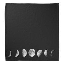 Cool Moon Phases  Bandana