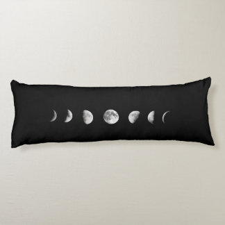 Cool Moon Phases Body Pillow