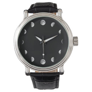 Cool Moon Phases Minimal Novelty Watch