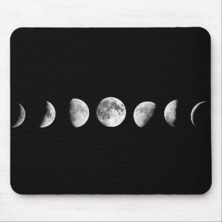 Cool Moon Phases Mousepad