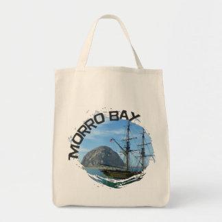 Cool Morro Bay Grocery Bag! Tote Bag