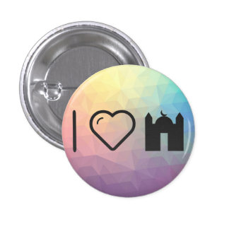 Cool Mosque 1 Inch Round Button