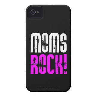 Cool Mothers Day Birthdays Christmas : Moms Rock iPhone 4 Case