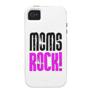 Cool Mothers Day Birthdays Christmas : Moms Rock iPhone 4 Covers