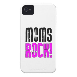 Cool Mothers Day Birthdays Christmas : Moms Rock iPhone 4 Cover