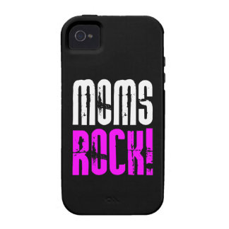 Cool Mothers Day Birthdays Christmas : Moms Rock Case For The iPhone 4