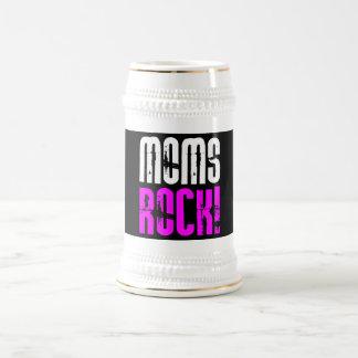 Cool Mothers Day Birthdays Christmas : Moms Rock Mug