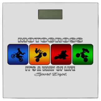 Cool Motocross It Is A Way Of Life Bathroom Scale