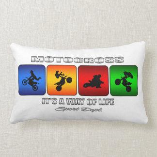 Cool Motocross It Is A Way Of Life Lumbar Pillow