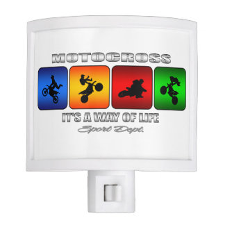 Cool Motocross It Is A Way Of Life Night Light