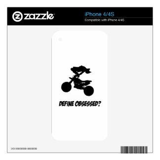 Cool motor cross Lovers Designs iPhone 4S Skins