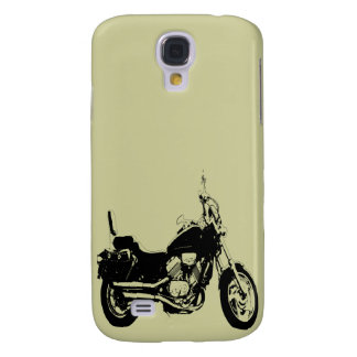 Cool motorcycle bike silhouette galaxy s4 case