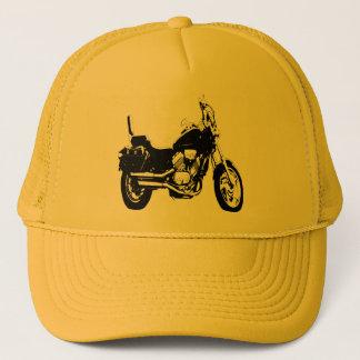 Cool motorcycle bike silhouette trucker hat