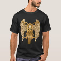 Cool motorcycle with angel wings T-Shirt